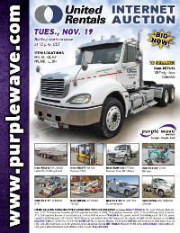 View November 19 United Rentals Auction flyer