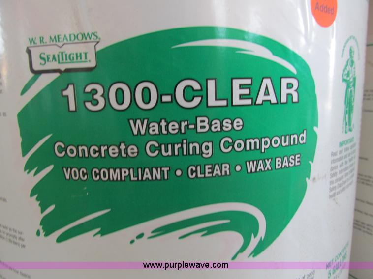 Assorted concrete curing compounds and anti-spalling compoun