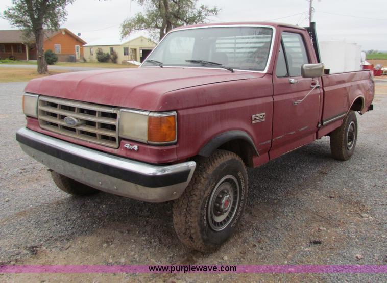 1988 ford f250 pickup truck item g4335 sold november. Black Bedroom Furniture Sets. Home Design Ideas