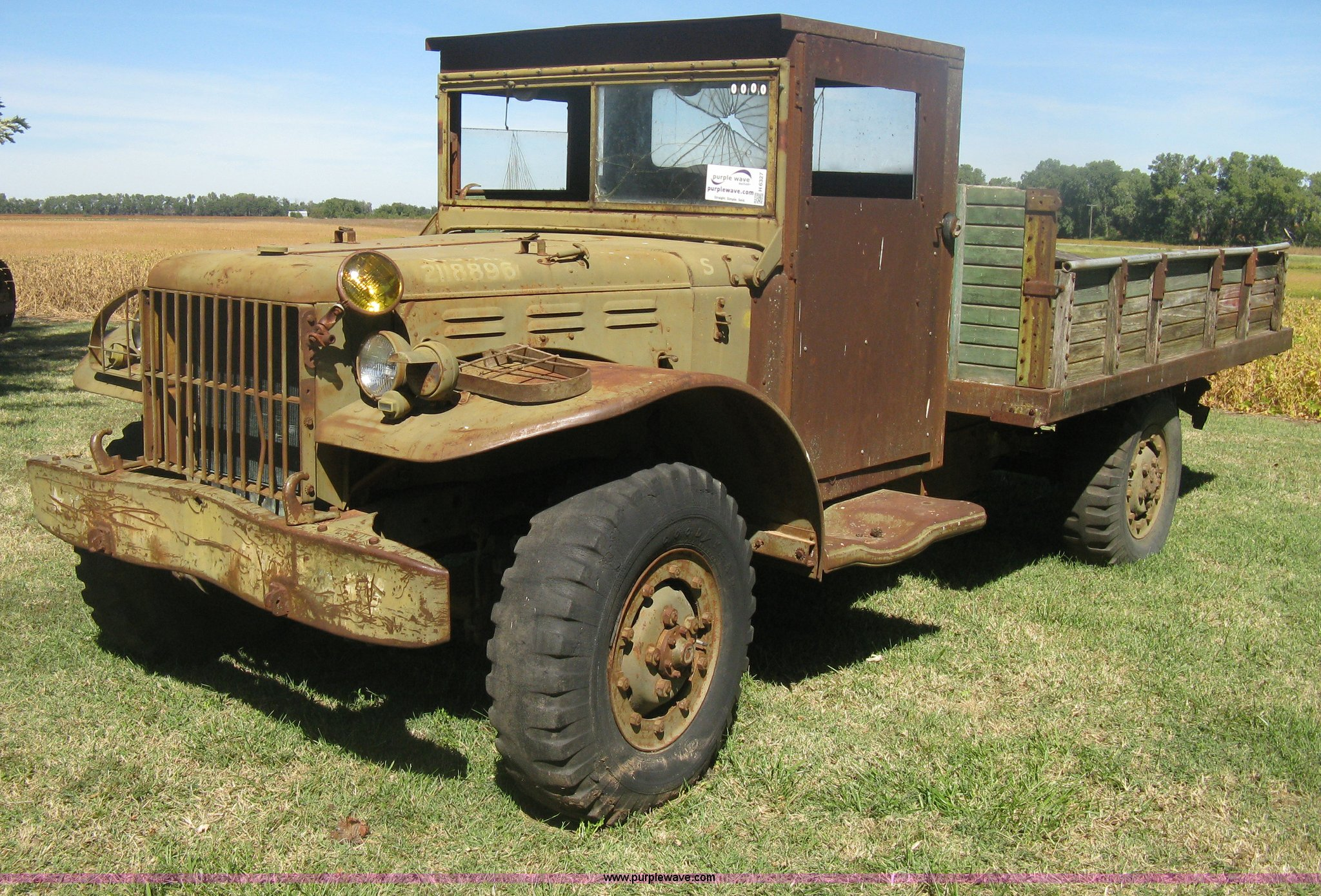 1942 Dodge WC51 military cargo vehicle   Item H6327   SOLD!
