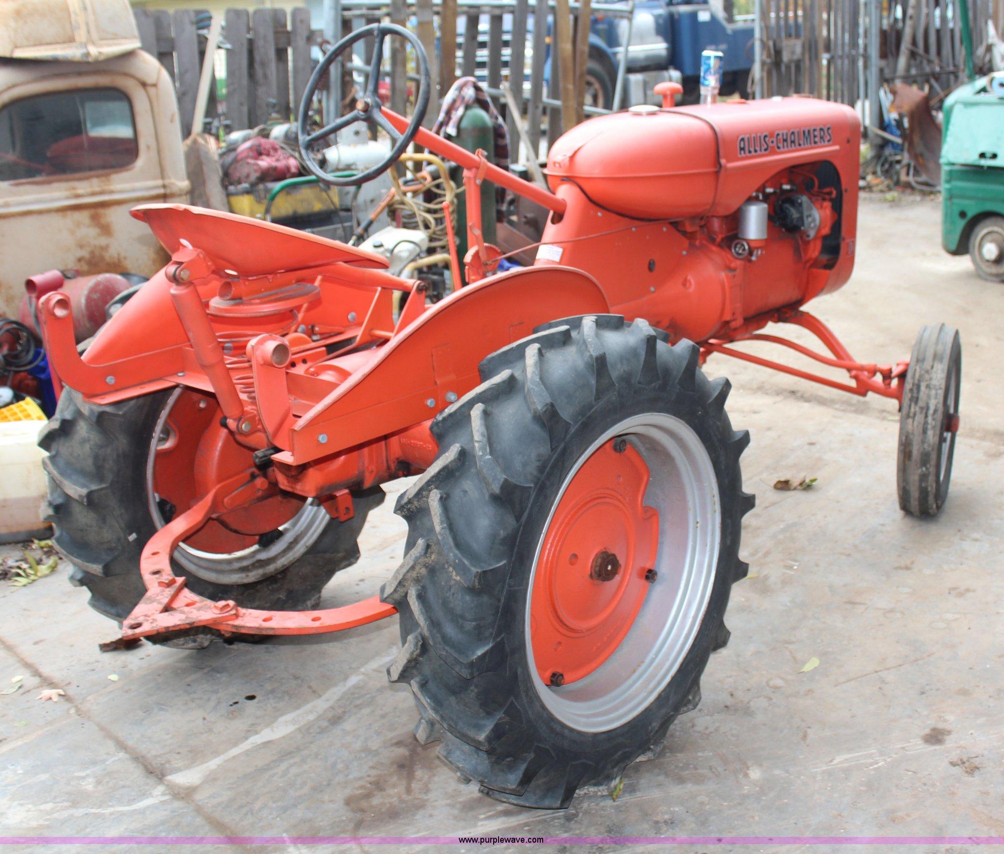 1940 Allis Chalmers B tractor | Item H7950 | SOLD! November