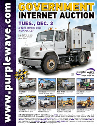 View December 3 Government Auction flyer