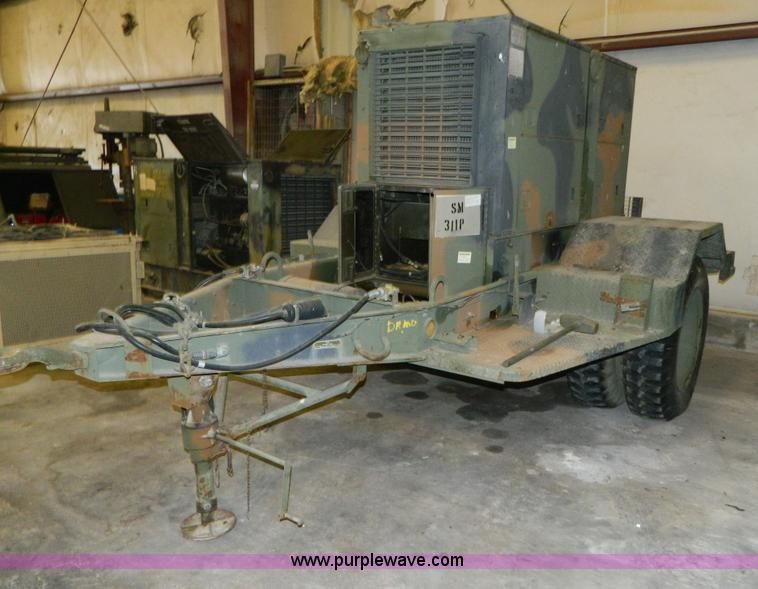 U S  Army Surplus portable generator | Item AZ9185 | SOLD! D
