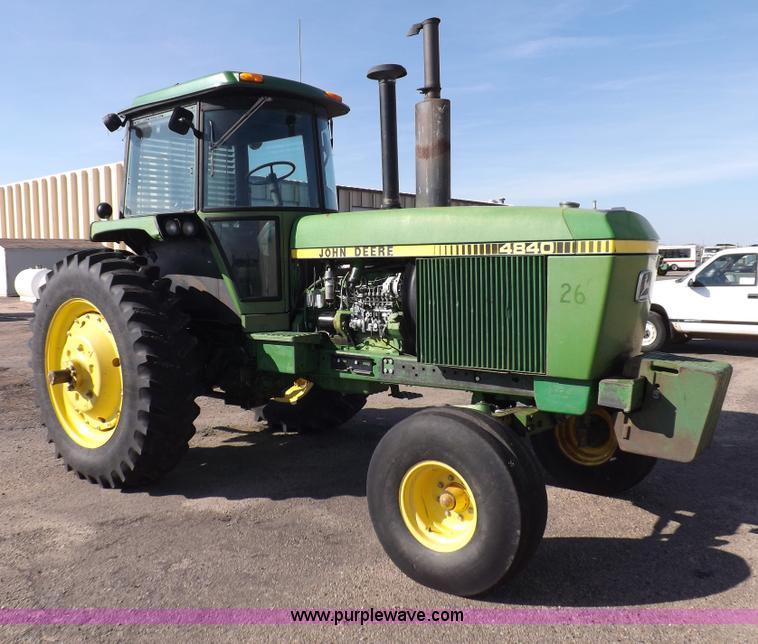 John Deere 4840 : John deere tractor item i sold december