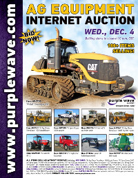 View December 4 Ag Equipment Auction flyer