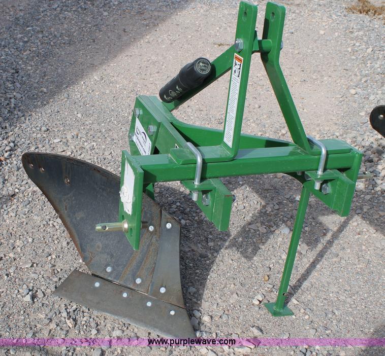 Three bottom moldboard plow