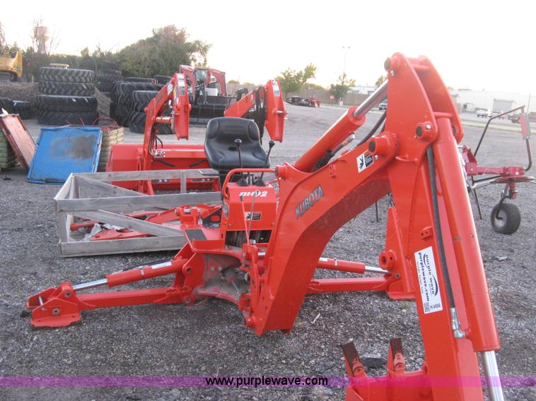 Kubota Backhoe Attachment : Used construction agricultural equip trucks trailers