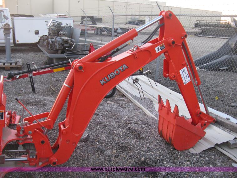 Kubota BH92 backhoe attachment | Item H4494 | SOLD! December