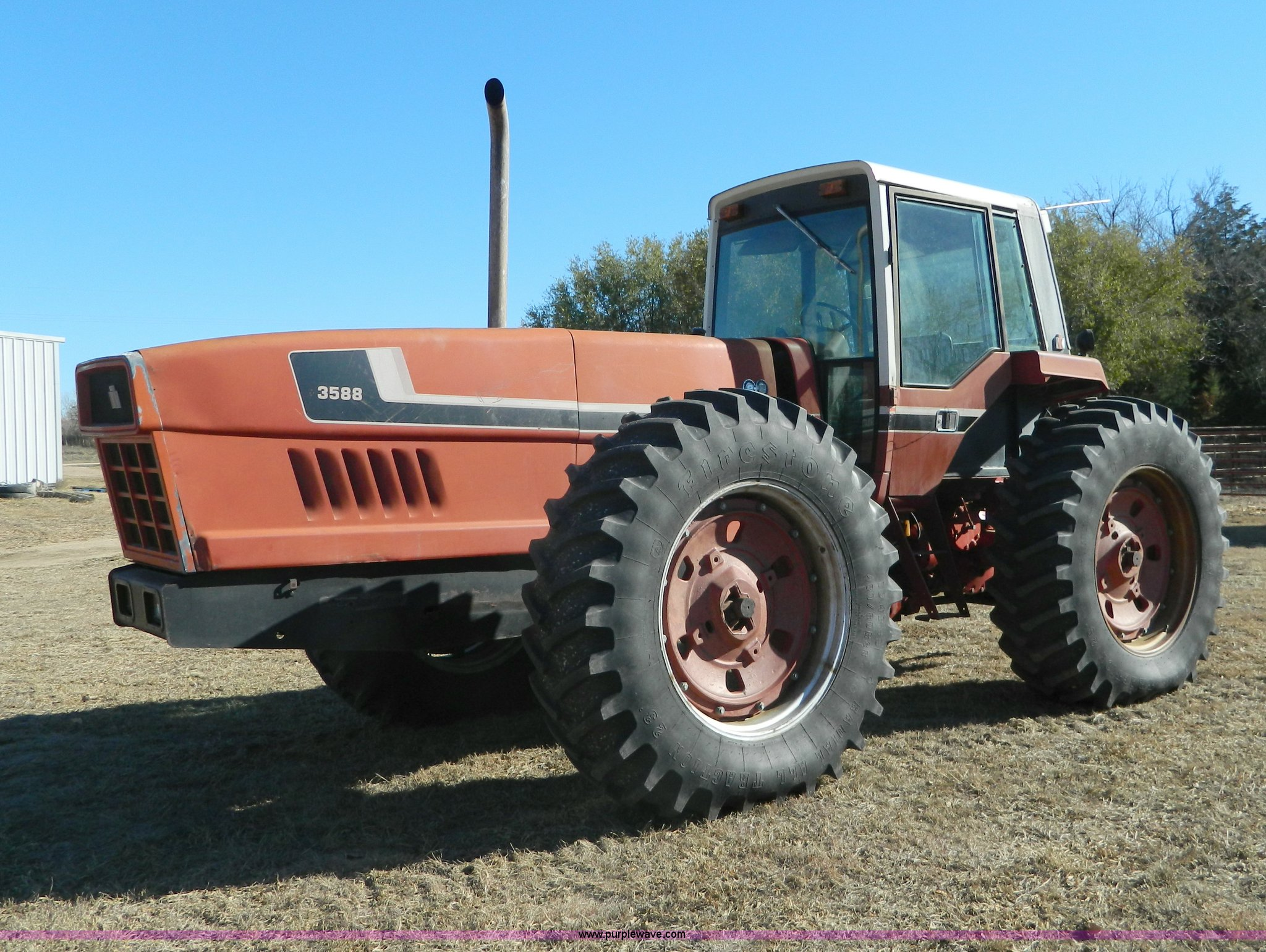 1980 International Harvester 3588 2 2 4wd Tractor In