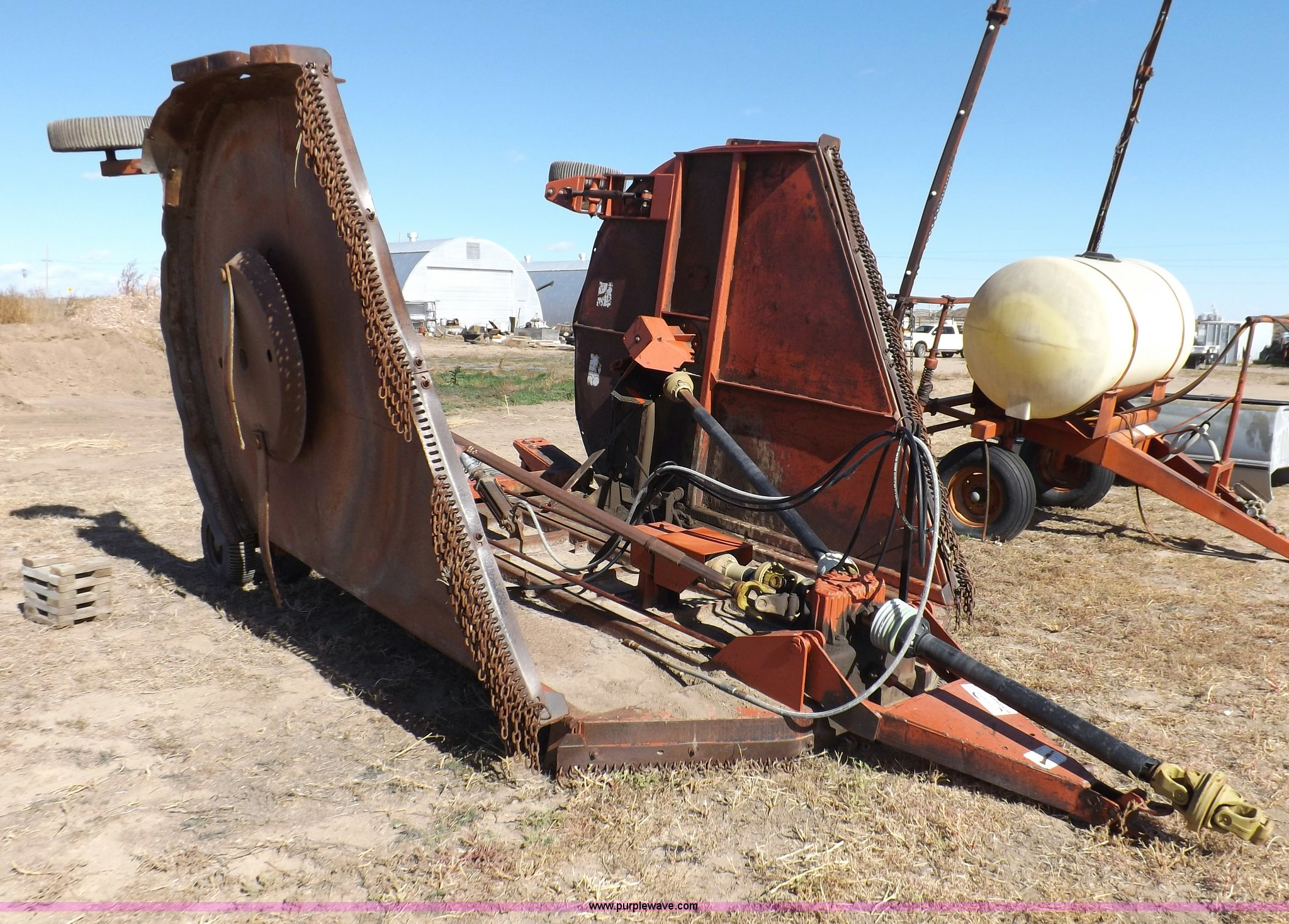 Rhino Flex 20 batwing mower | Item I8310 | SOLD! December 4