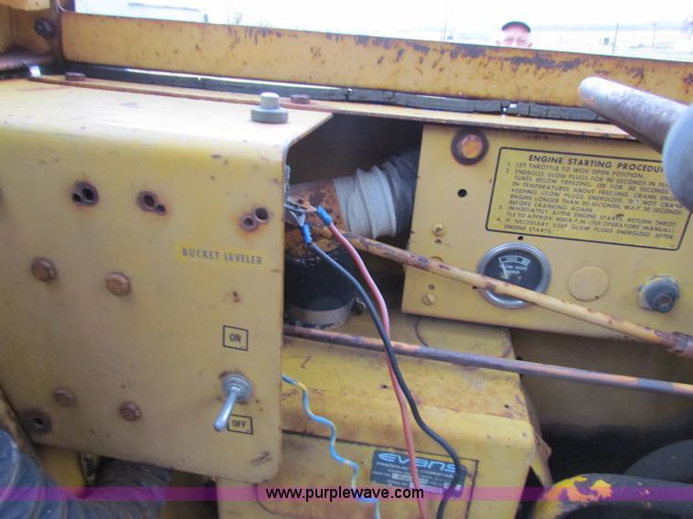1971 Hough H50 Payloader wheel loader | Item H7311 | SOLD! D
