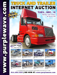 View December 10 Truck and Trailer Auction flyer