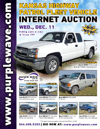View December 11 Kansas Highway Patrol Fleet Vehicle Auction flyer