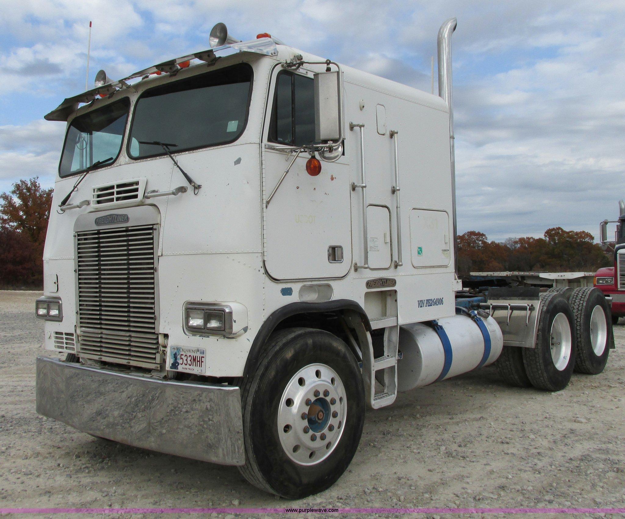 Freightliner Trucks For Sale In Oklahoma >> 1985 Freightliner Flt 10464t Semi Truck Item I4963 Sold