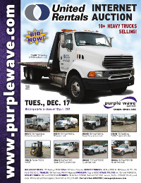 View December 17 United Rentals Auction flyer