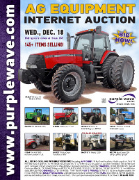 View December 18 Ag Equipment Auction flyer