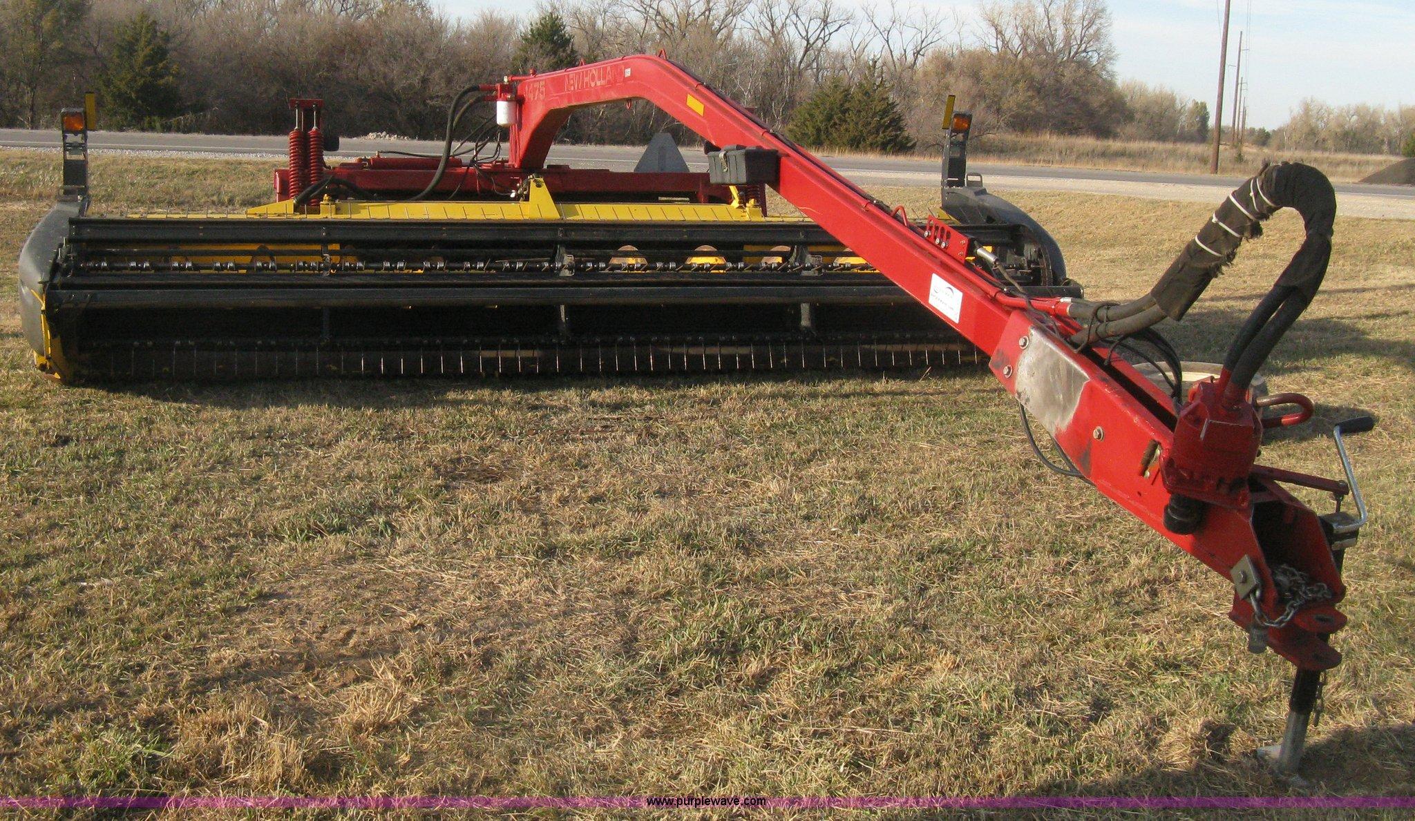 2004 New Holland 1475 HS Series haybine swather   Item H4370