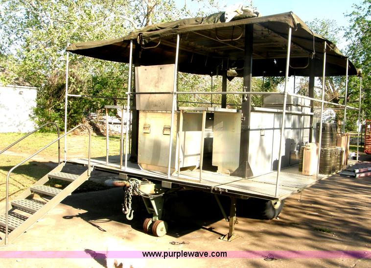 us military mkt 85 portable field kitchen trailer item h72 rh purplewave com army mkt technical manual Army Assault Kitchen