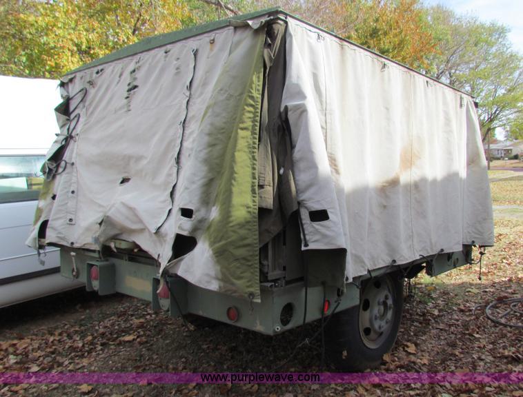 US Military MKT-85 portable field kitchen trailer | Item H72...