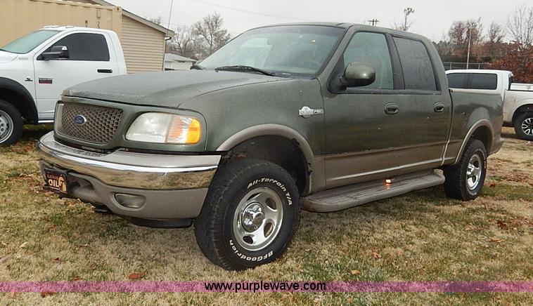 2002 ford f150 king ranch pickup truck item i9446 sold. Black Bedroom Furniture Sets. Home Design Ideas