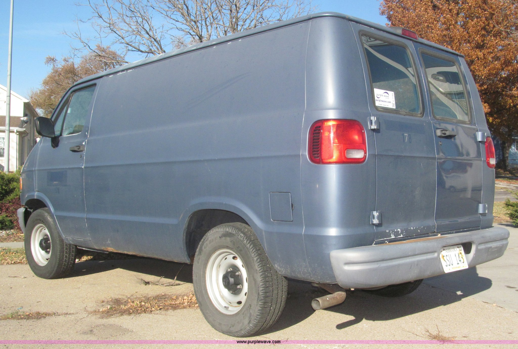 ... 1997 Dodge Ram Van 1500 cargo van Full size in new window ...