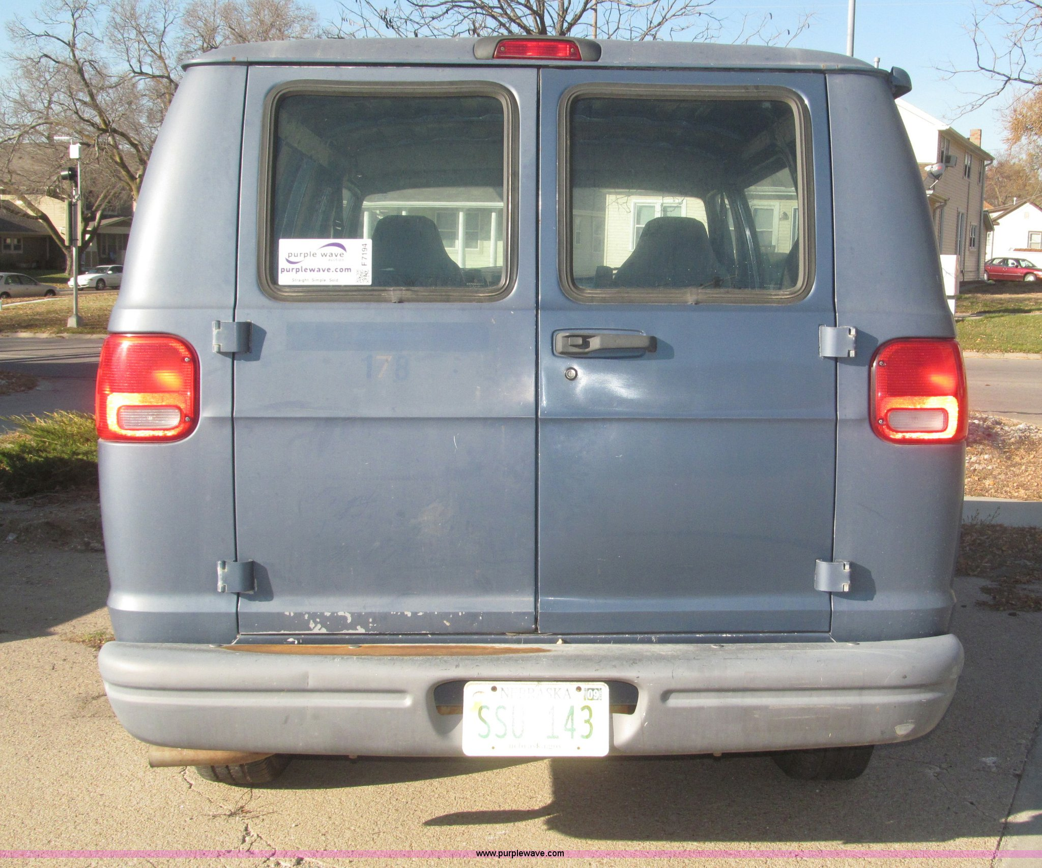 ... 1997 Dodge Ram Van 1500 cargo van Full size in new window ...