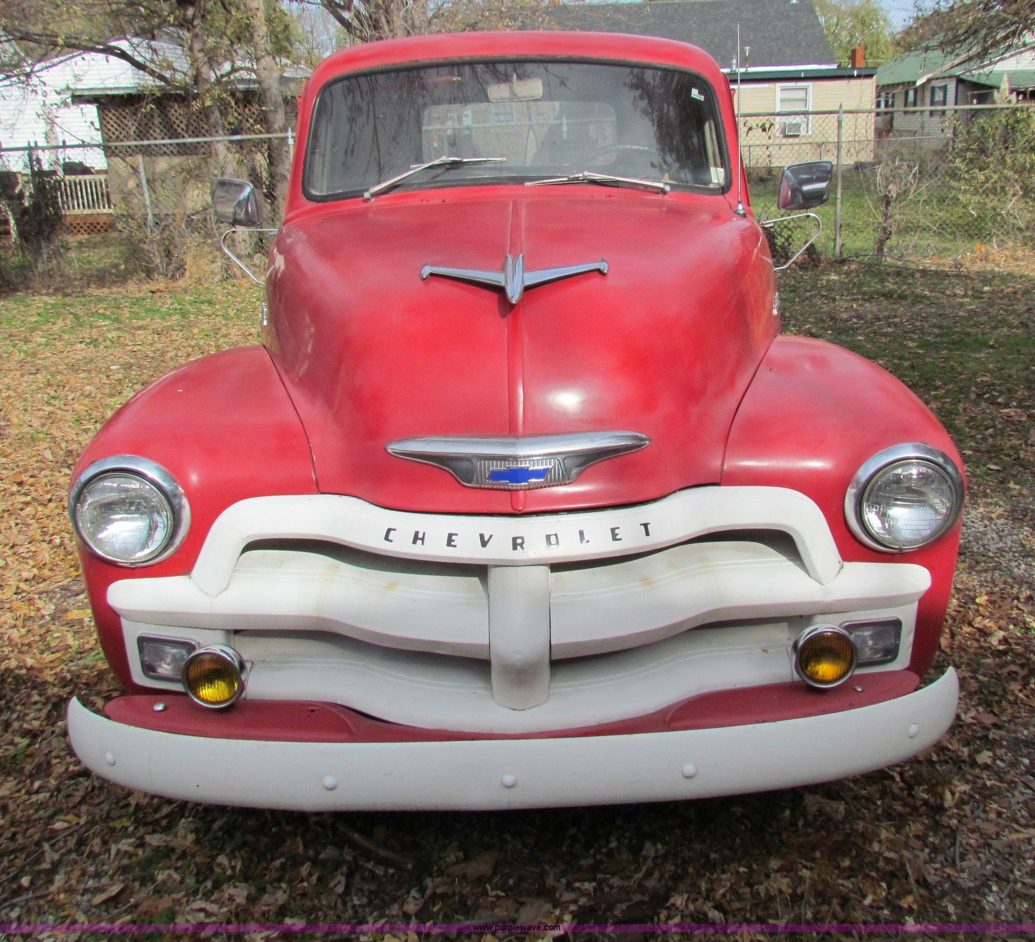 1954 Chevrolet 3100 Pickup Truck Item H7282 Sold Decemb Full Size In New Window