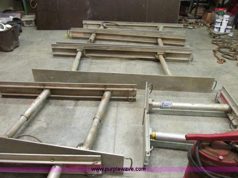Aluminum Shoring Systems : Speed shore complete hydraulic adjustable aluminum shoring