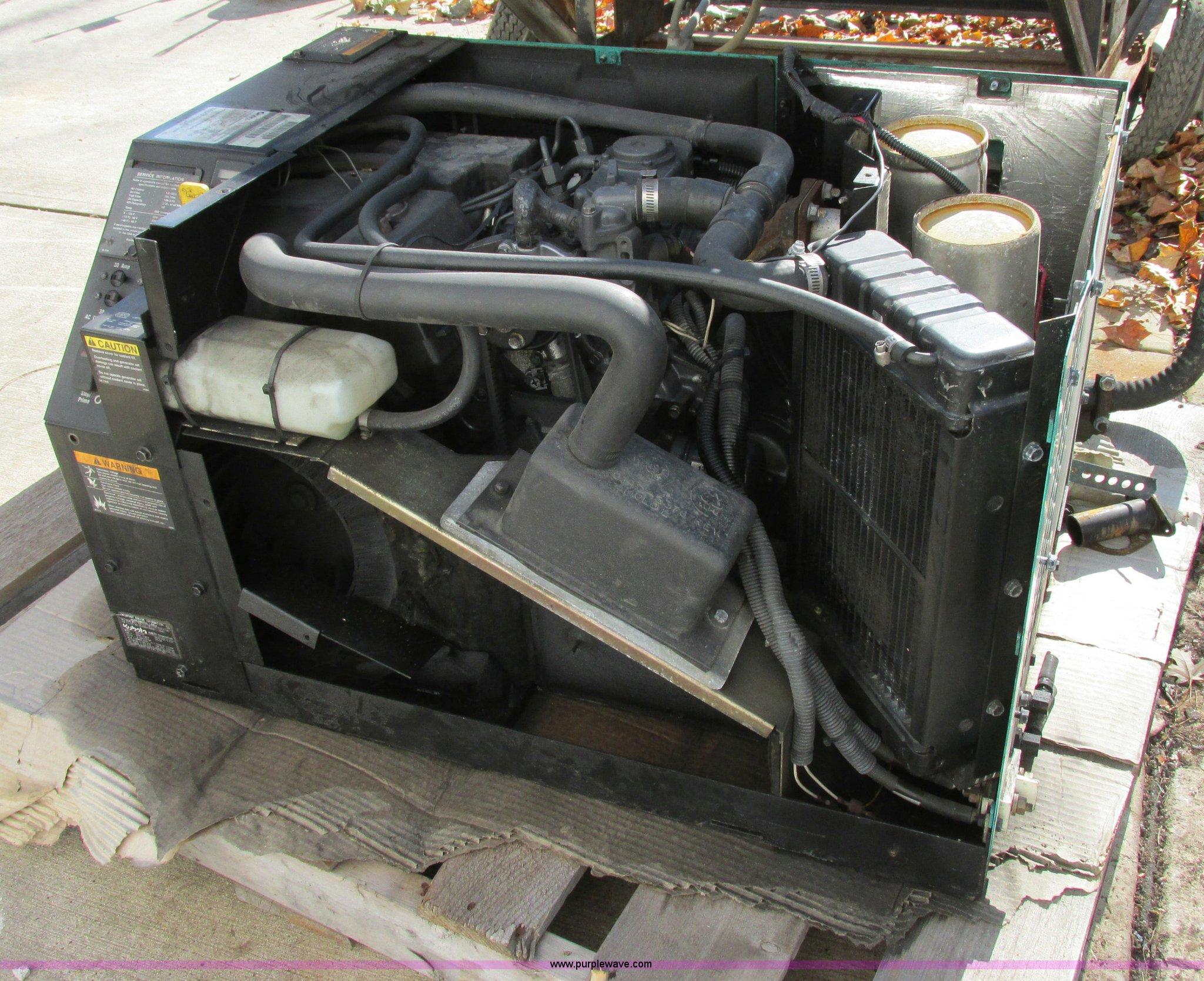 an Quiet 5500 generator Item F5397