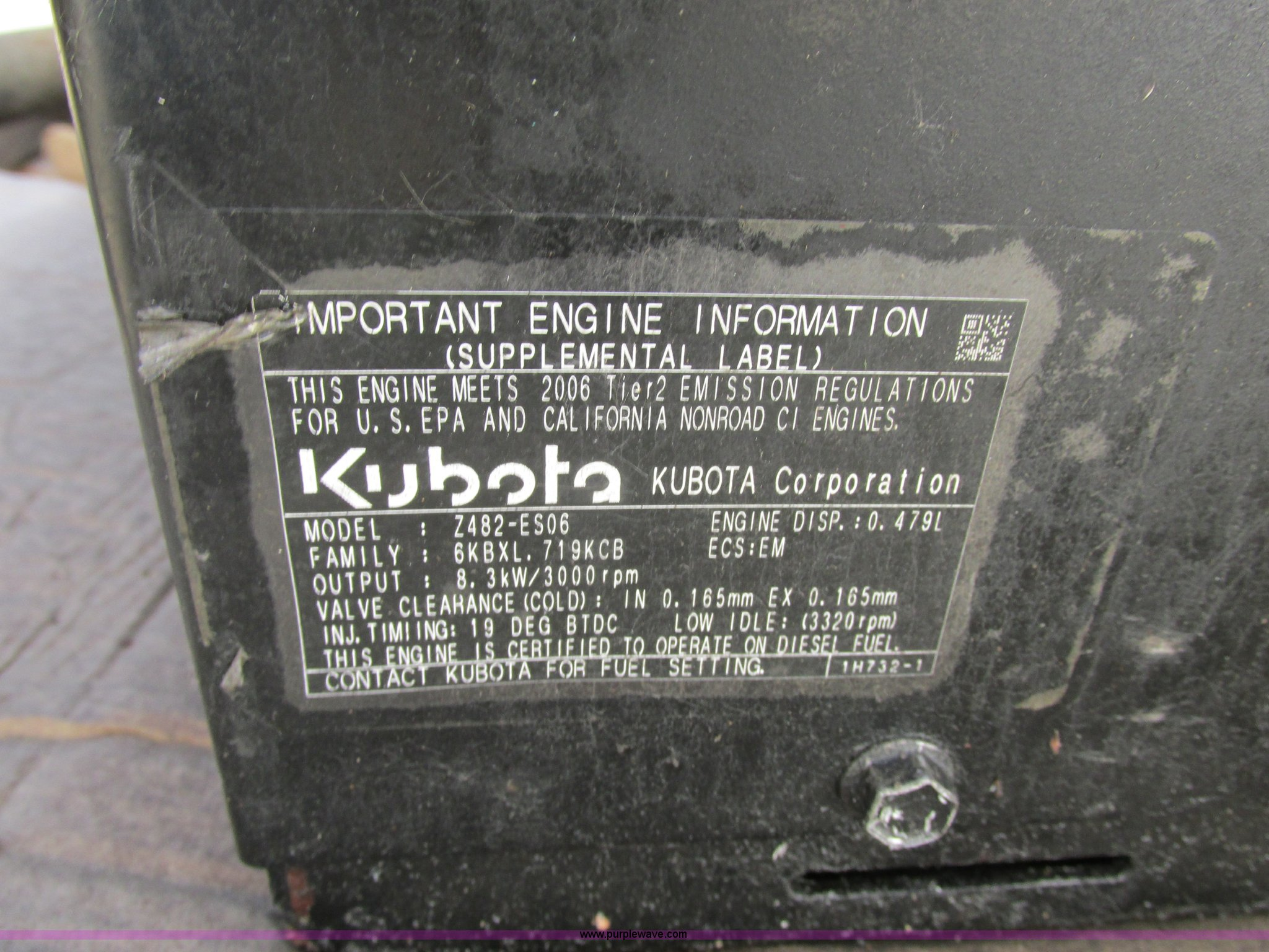 Onan Quiet 5500 generator | Item F5397 | SOLD! December 19 C