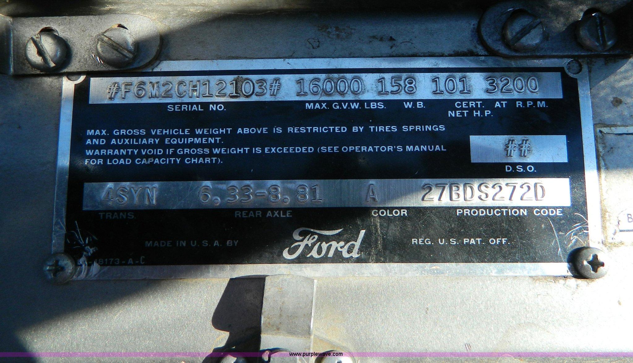 1952 ford grain truck item az9111 sold december 30 ag e full size in new window nvjuhfo Gallery