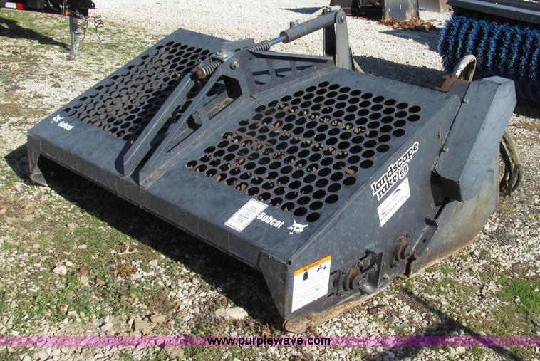 Landscape Rake For Bobcat : Used construction agricultural equip trucks trailers more