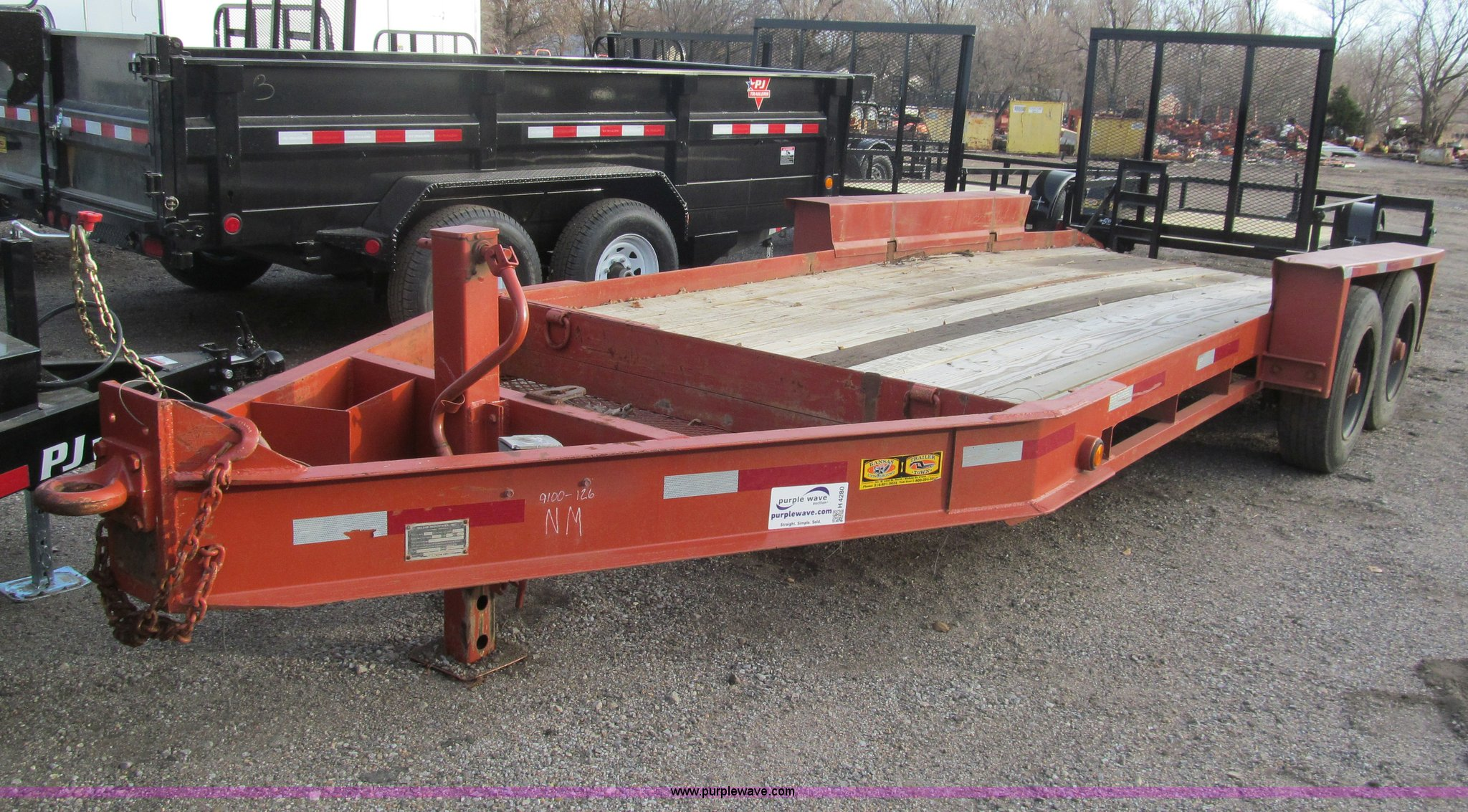 Belshe Trailer Wiring Diagram Diagrams Double Axle For Wire Center U2022 Craigslist 1998 T16 Tandem Equipment