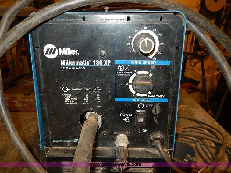 Millermatic 130xp Parts Diagram