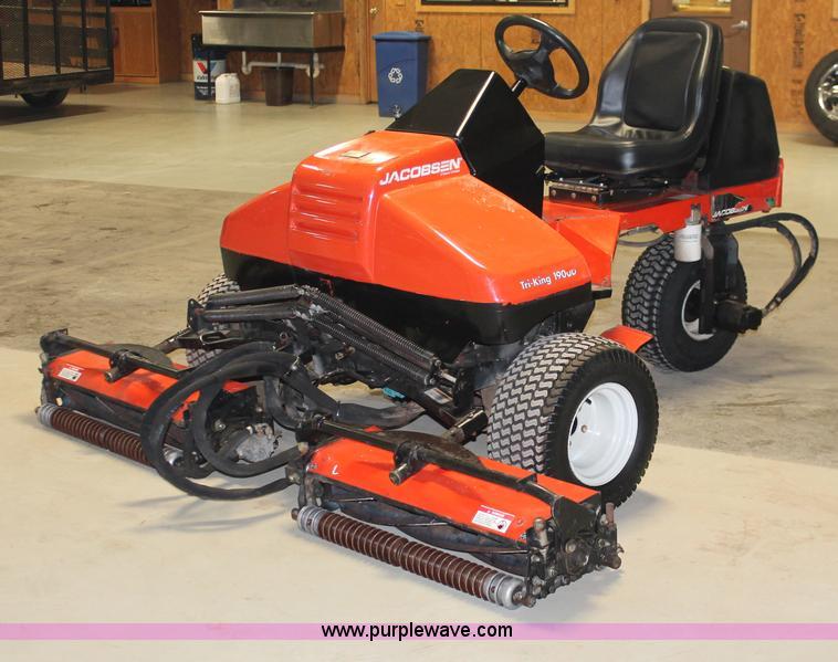 2002 jacobsen tri king 1900d reel mower item h8387 sold rh purplewave com Jacobsen Lawn Mower jacobsen tri king 1471 manual