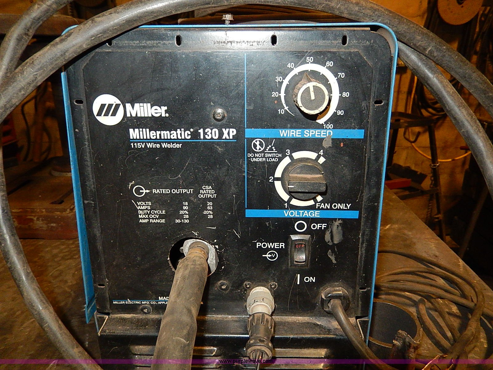 Lincoln Welders For Sale >> Miller Millermatic 130XP wire welder | Item AP9790 | 1-8-2014