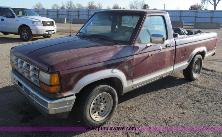 1990 ford ranger pickup truck no reserve auction on. Black Bedroom Furniture Sets. Home Design Ideas