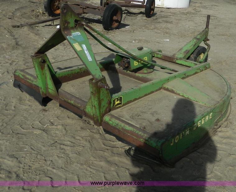 John Deere 609 6' rotary mower | Item AD9924 | SOLD! January
