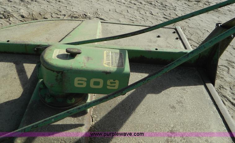 John Deere 609 6' rotary mower | Item AD9924 | SOLD! January