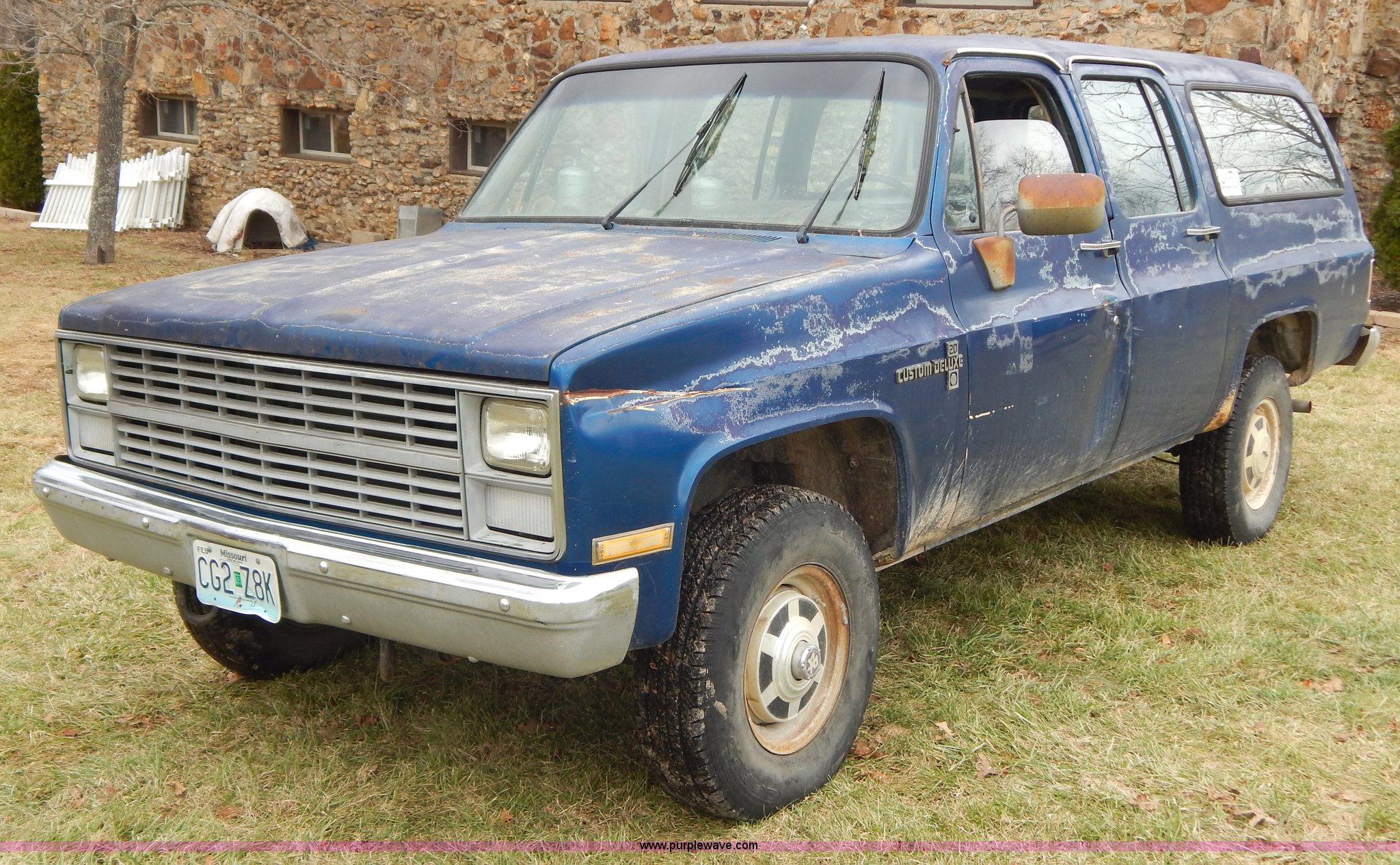 1983 Chevrolet K20 Custom Deluxe Silverado Suburban SUV | It