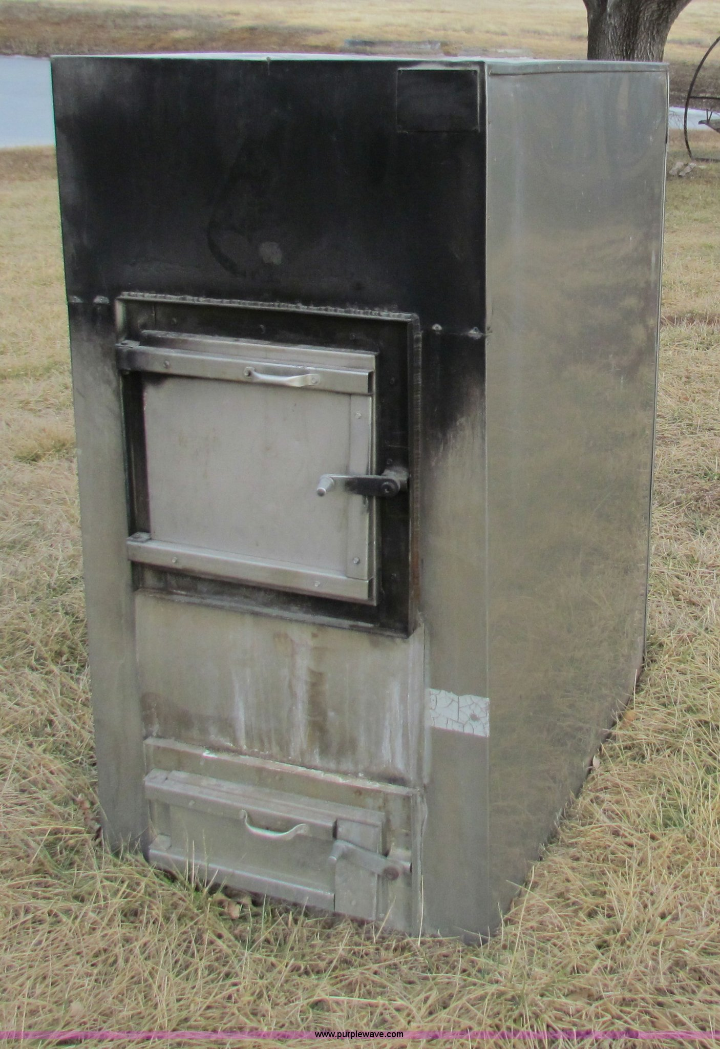 Hardy H2 Outdoor Wood Burning Furnace Item H7255 Sold