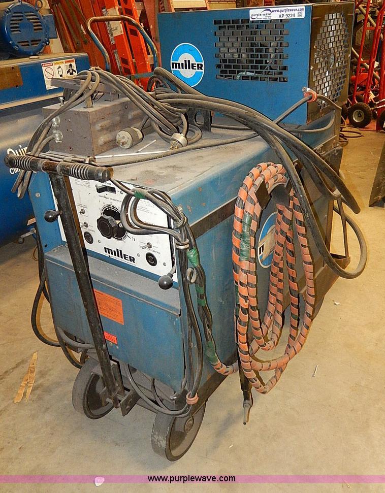 Miller Tig Welder For Sale >> Miller Dialarc Hf Tig Welder Item Ap9224 Sold February