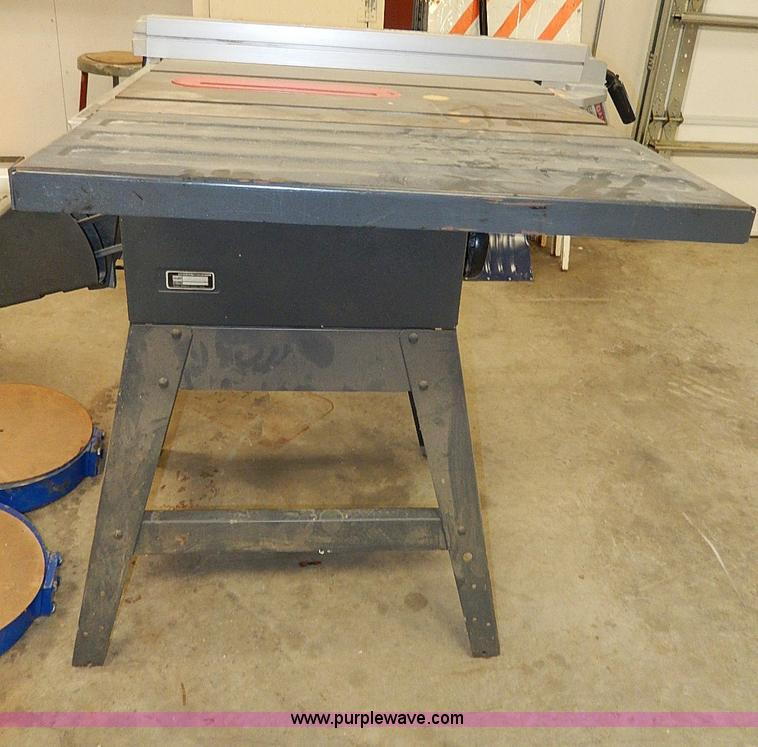 Craftsman 10 table saw item ap9225 sold for 10 in table saw craftsman