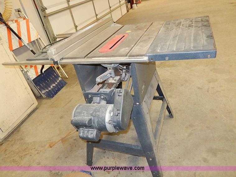 Craftsman 10 table saw item ap9225 sold for Manhattan motors manhattan ks