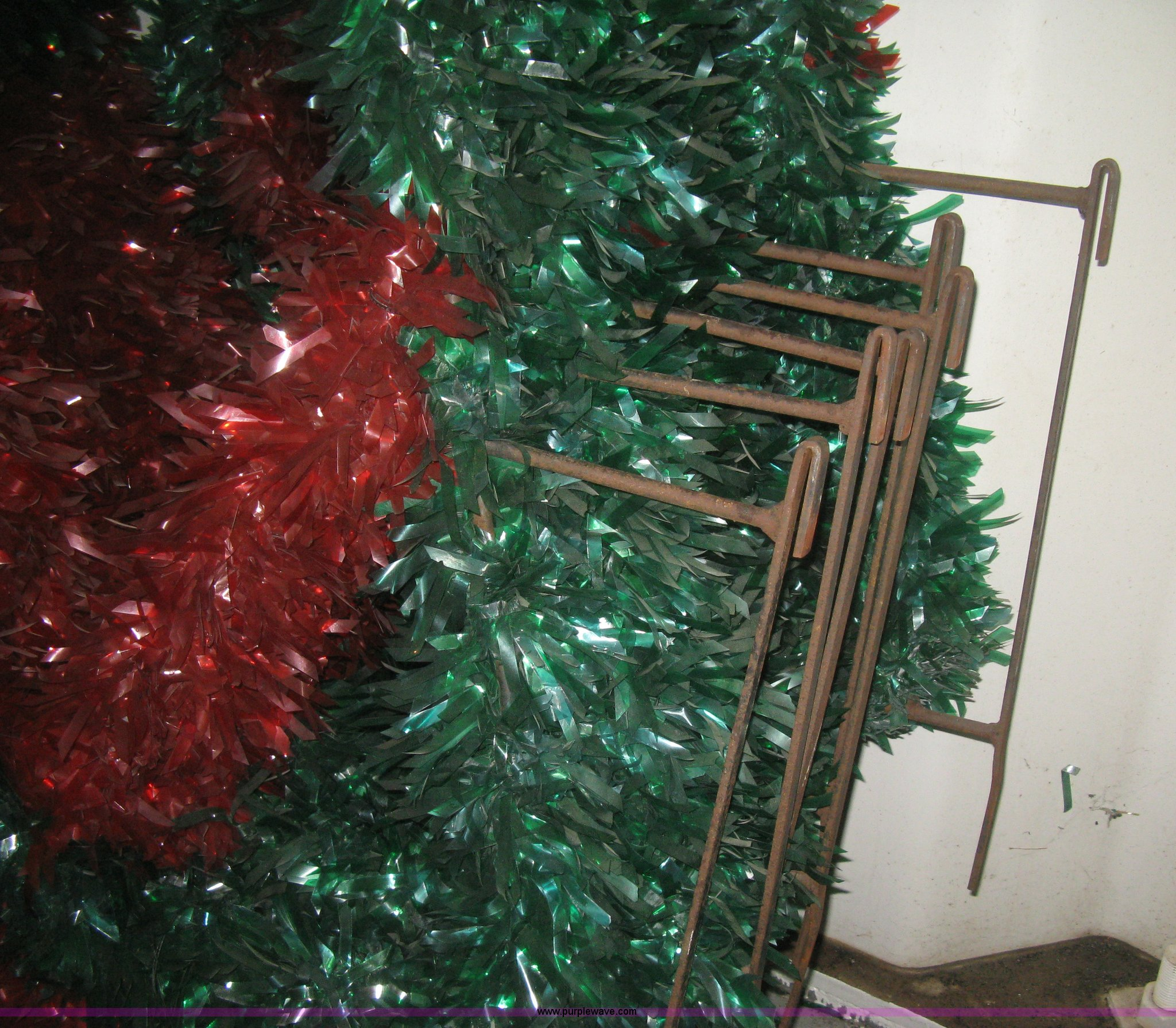 christmas tree light pole mounted decorations full size in new window