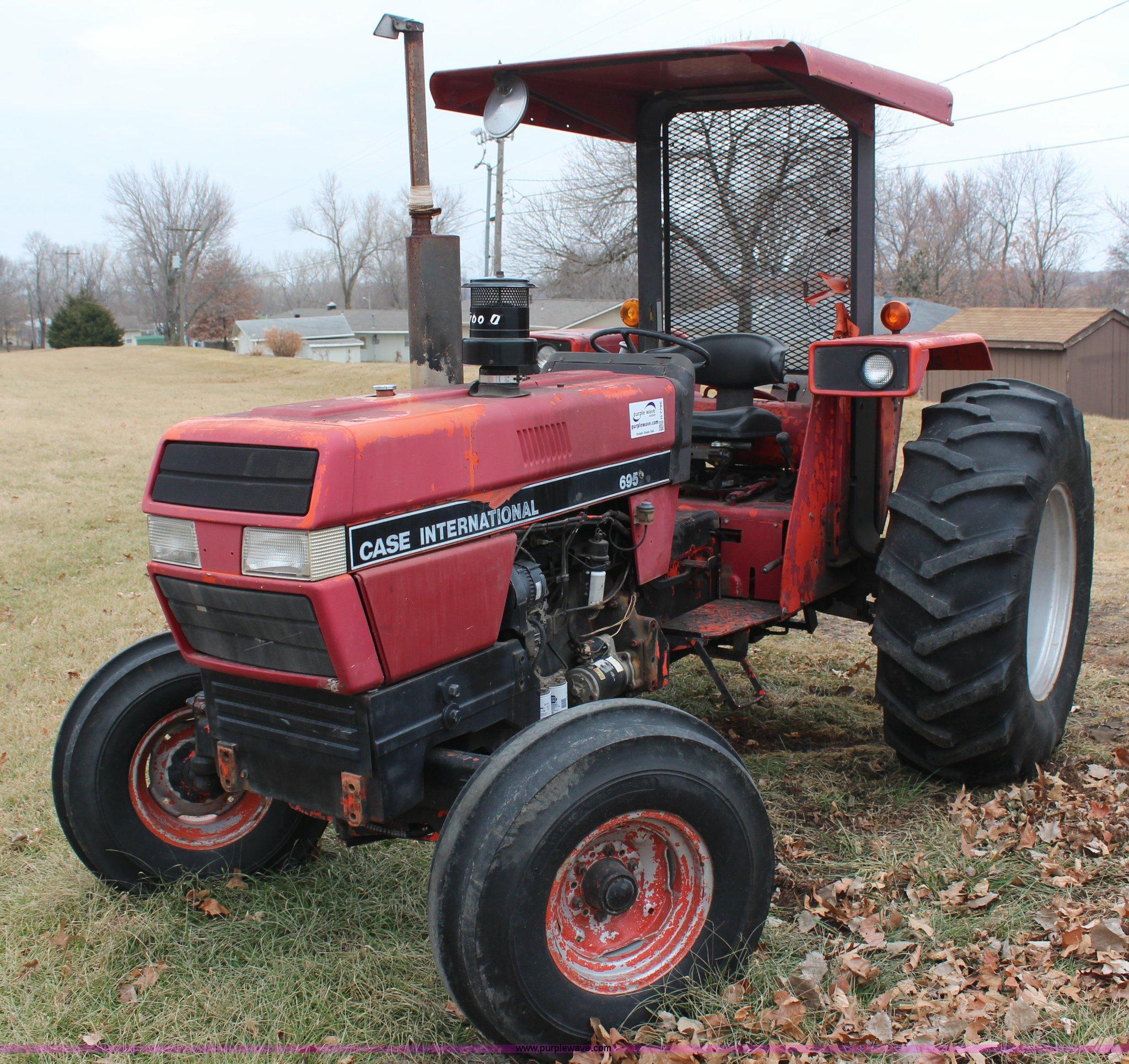 Tractor Manual For Ih 695 Farmall Wiring Harness 1991 Case Item H7786 Sold February 4 Gov Rh Purplewave Com International Harvester Parts 140