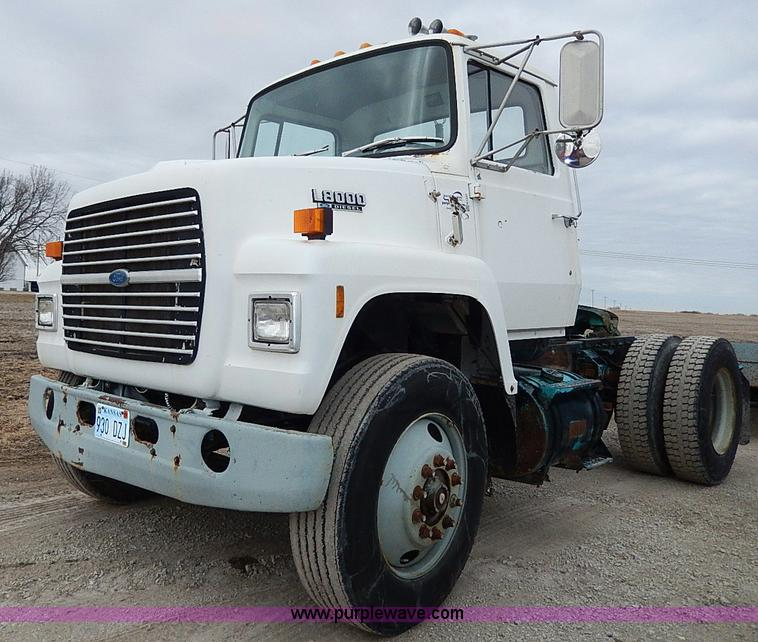 1989 ford ln8000 semi truck item h1257 sold february 12 rh purplewave com 1991 Ford LN8000 Specifications Ford Ln 8000 Engine