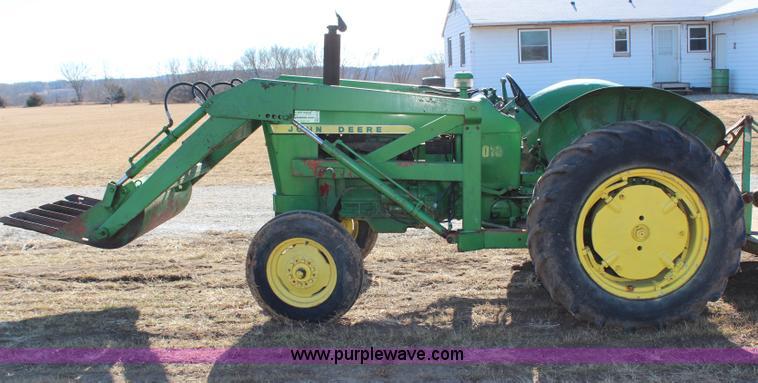 1010 John Deere Rims : John deere tractor with loader item h