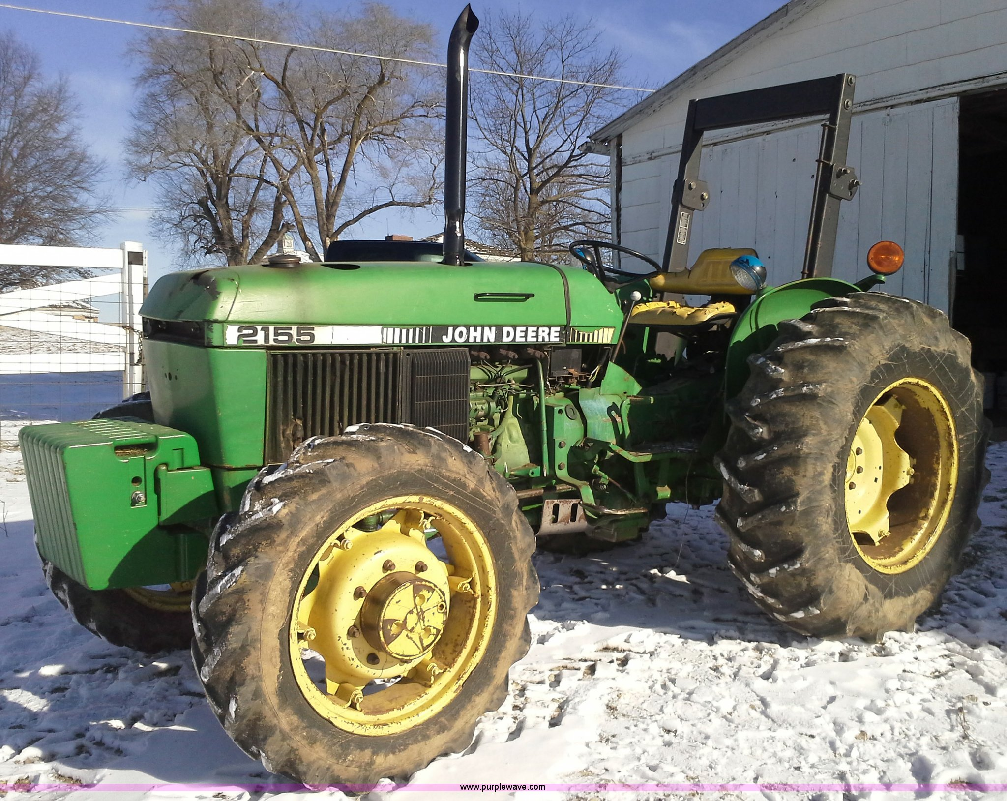 AN9145 image for item AN9145 John Deere 2155 tractor