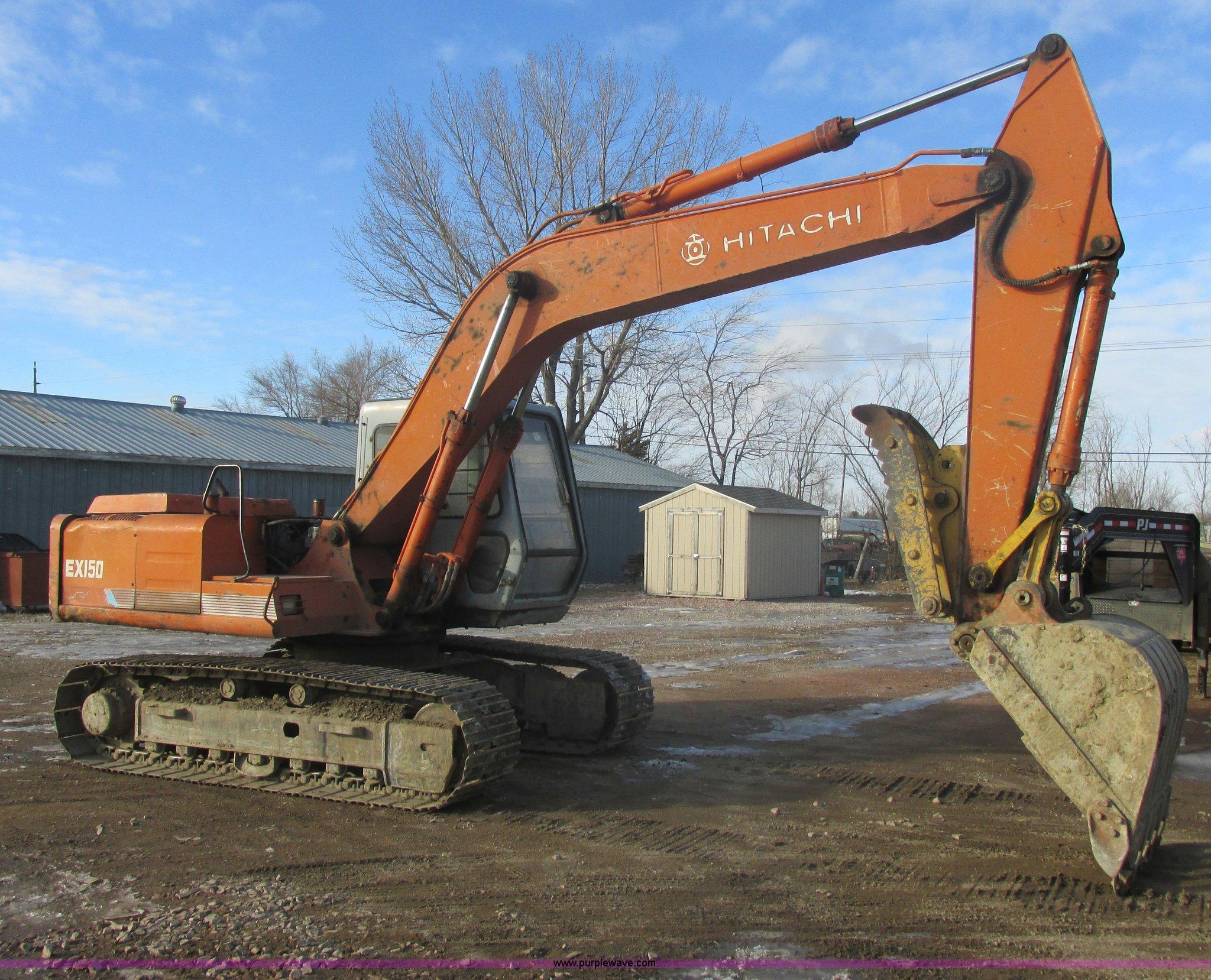 1989 Hitachi EX150 excavator | Item E5265 | SOLD! February 1